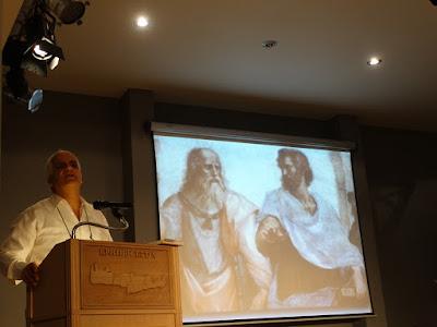 Παρουσίαση βιβλίου των εκδόσεων Νέα Ακρόπολη στην Κρητική Εστία