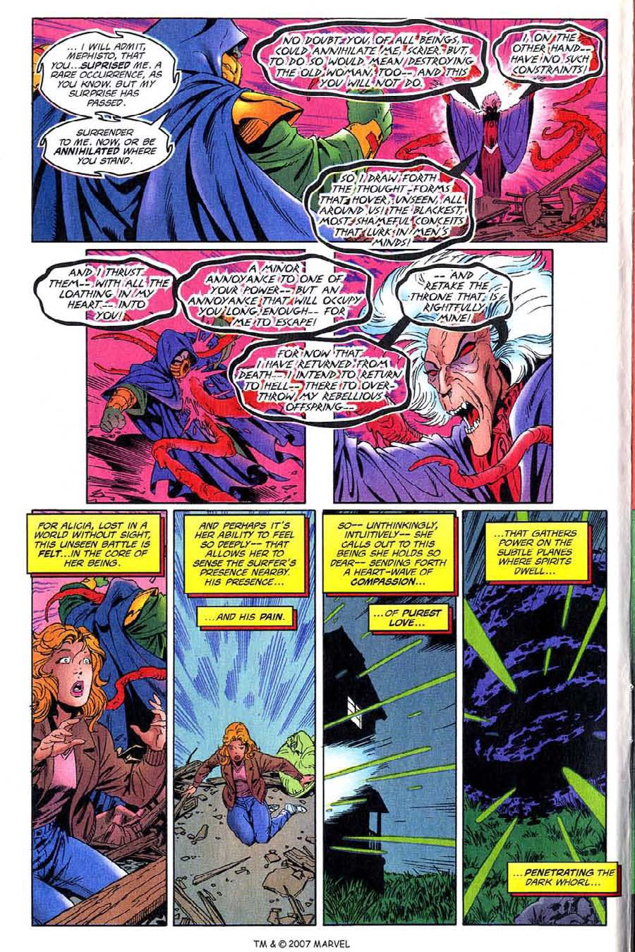 Read online Silver Surfer (1987) comic -  Issue #137 - 8