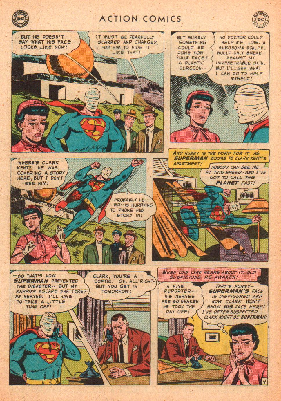 Read online Action Comics (1938) comic -  Issue #239 - 6