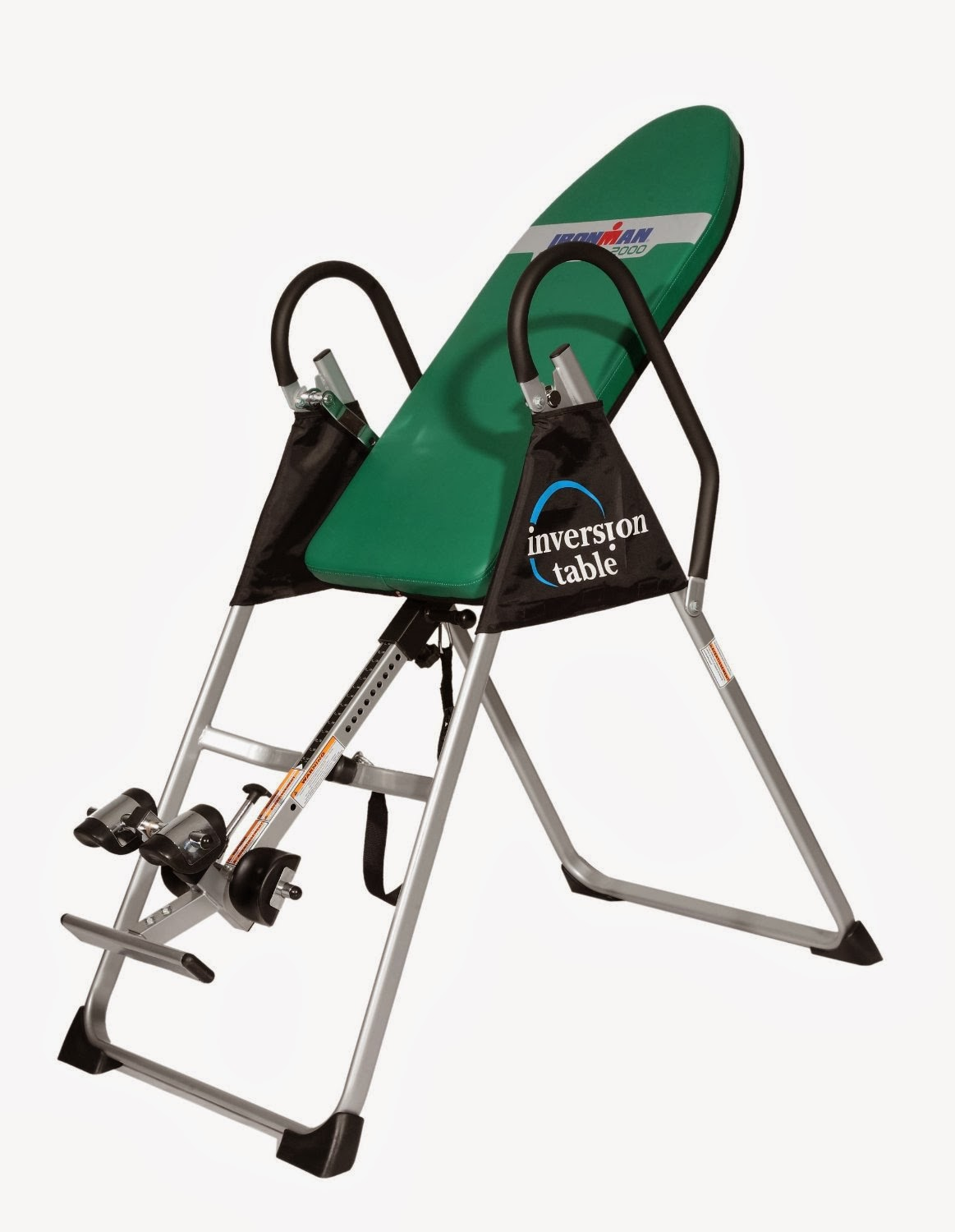 Ironman Gravity 2000 Inversion Table versus Gravity 4000.  Helps with back pain relief.