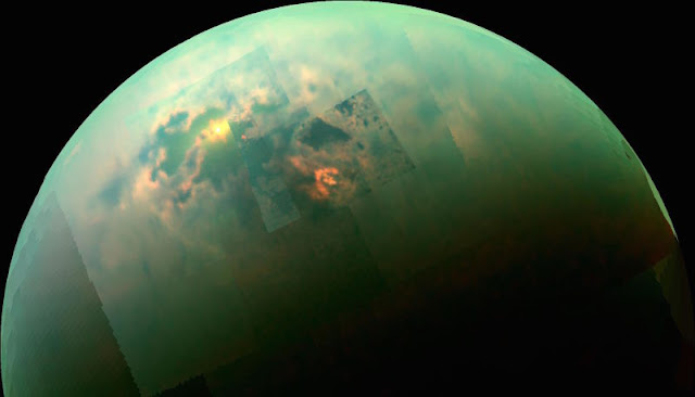 Saturn's moon Titan sports Earth-like features