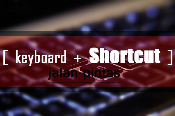 Fungsi Tombol dan Shortcut (Jalan Pintas) Keyboard Paling Lengkap di Laptop atau Komputer, CARAMIRAS.COM