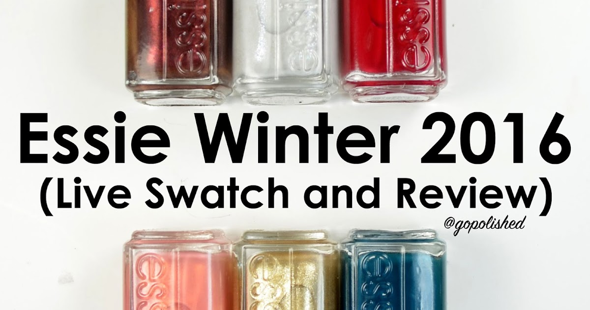 go polished  essie  u0026 39 getting groovy u0026 39  winter 2016 collection comparisons