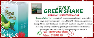 Pelangsing Green Shake Untuk Menurunkan Berat Badan