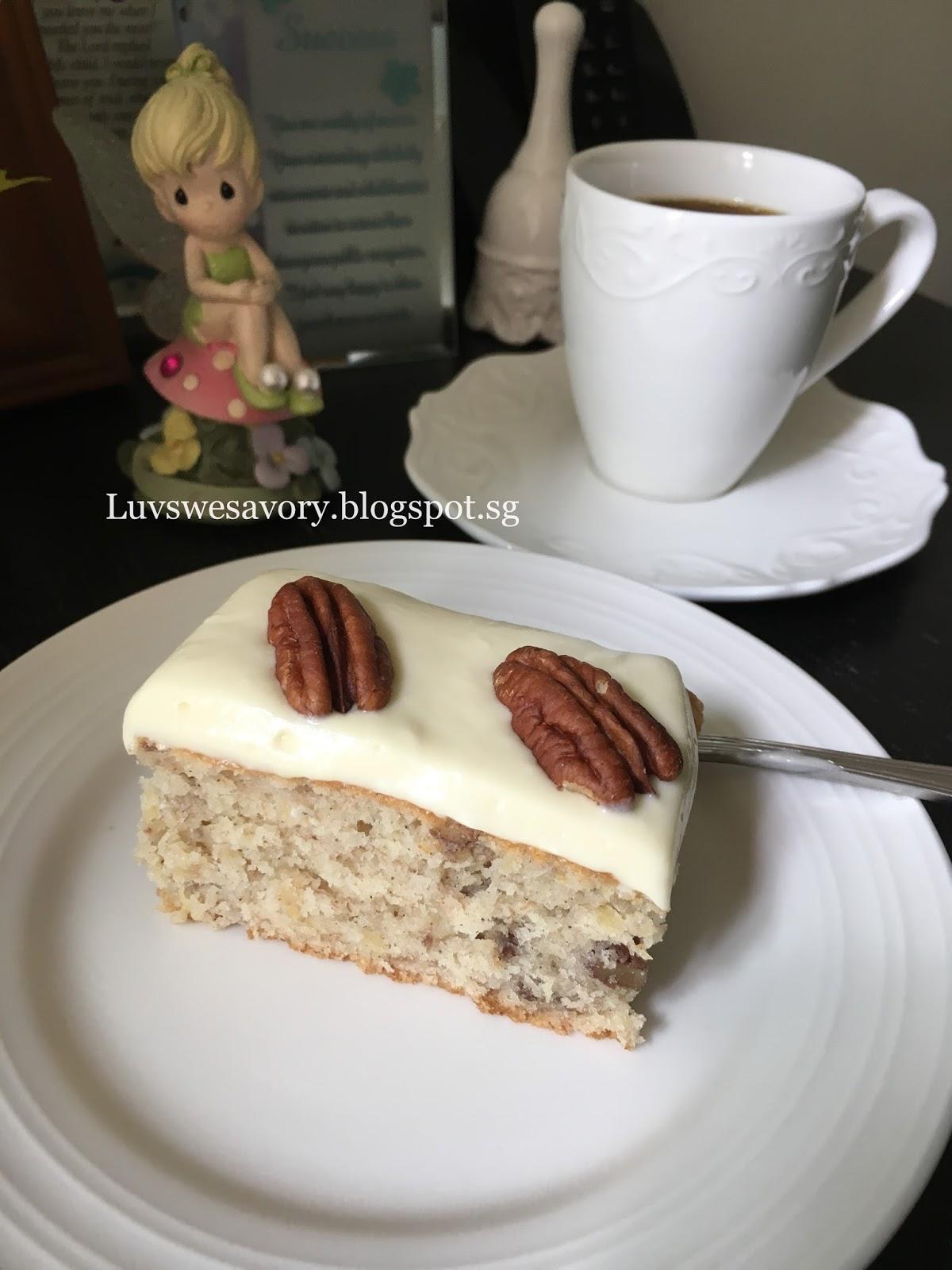 Hummingbird Cake With Spice Cake Mix