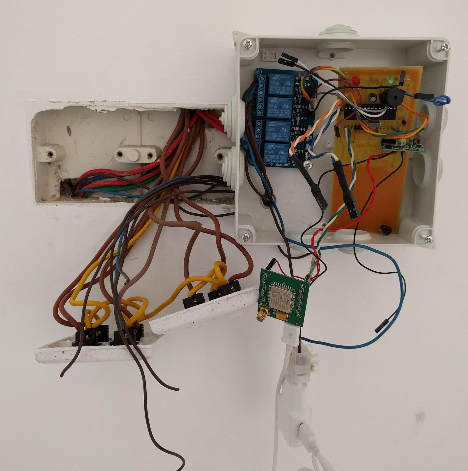 හැම දෙයක්ම අපිම හදා ගමු arduino home security system