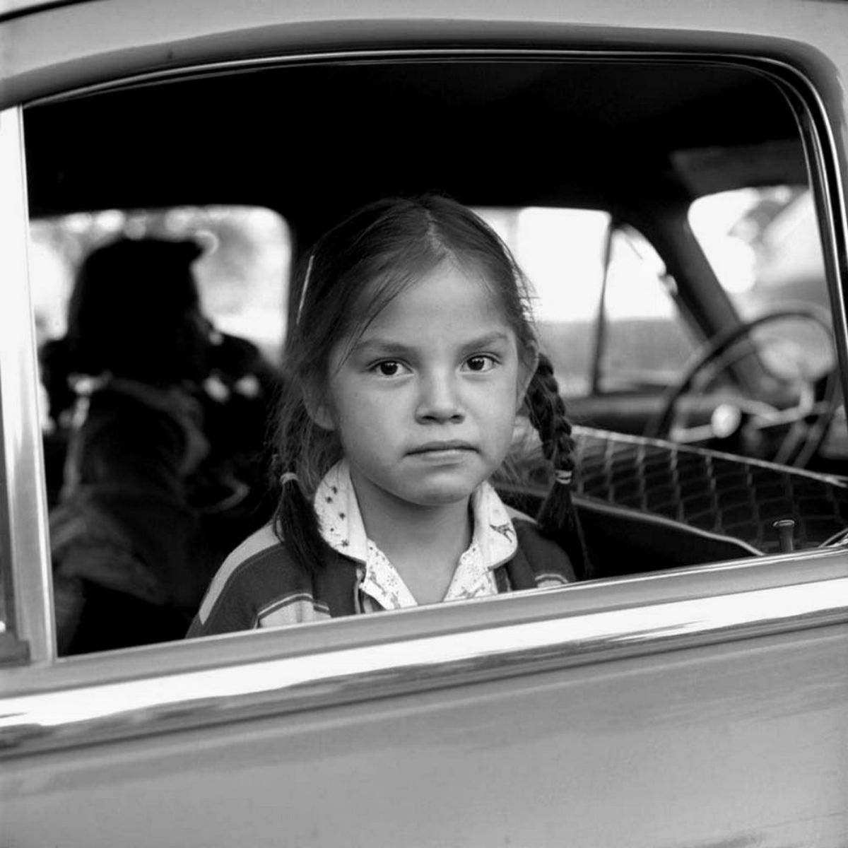 Photographs Of People In Their Cars Taken By Vivian Maier
