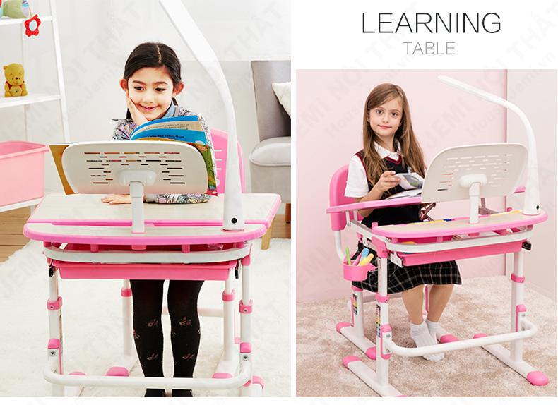 bàn học đa năng, bàn học cho bé, bàn học thông minh cho bé gái