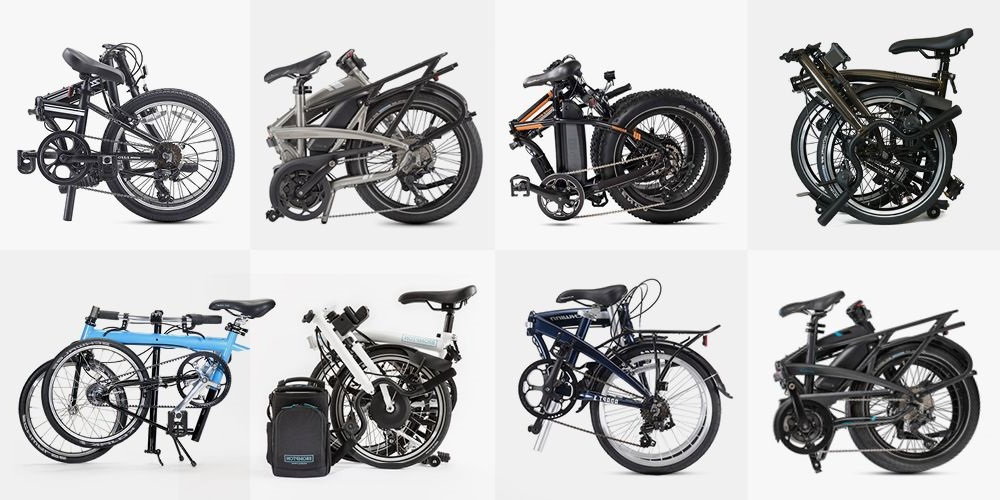 Sepeda Lipat Tipe Compact Model