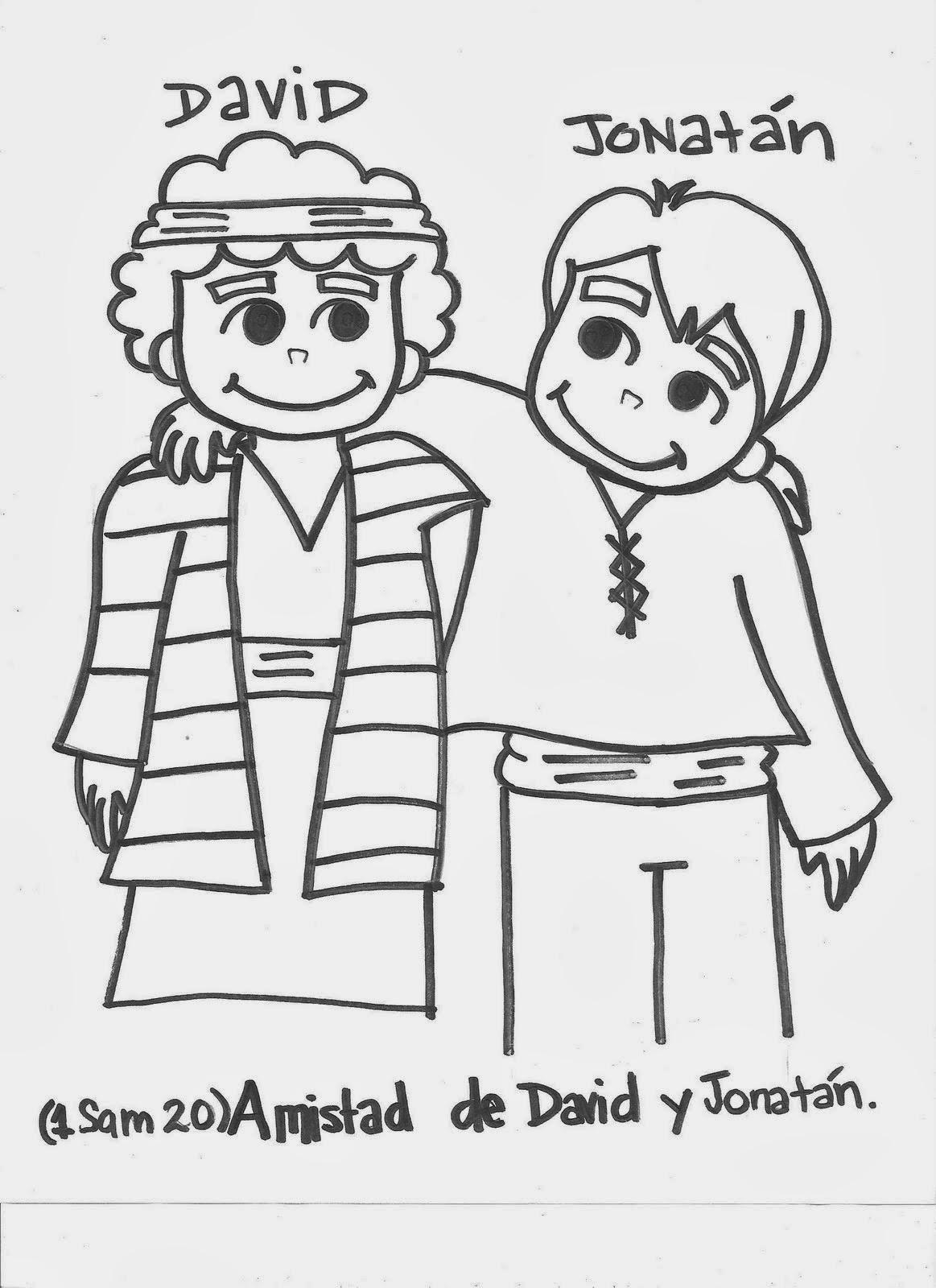 Historias Biblicas Para Niños La Amistad De David Y Jonatan
