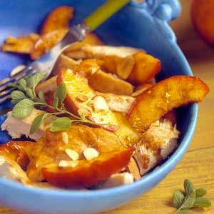 http://www.recipe.com/sauteed-chicken-with-brandied-fruit-and-almonds/