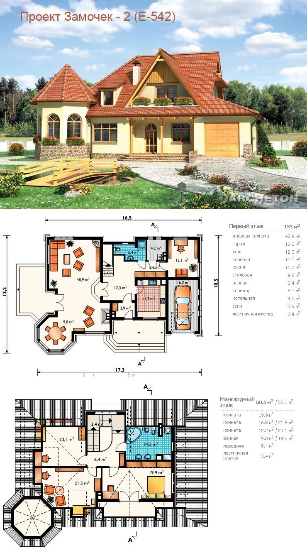 Дом под ключ проекты и цены