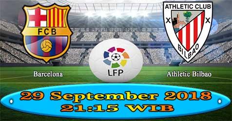 Prediksi Bola855 Barcelona vs Ath Bilbao 29 September 2018