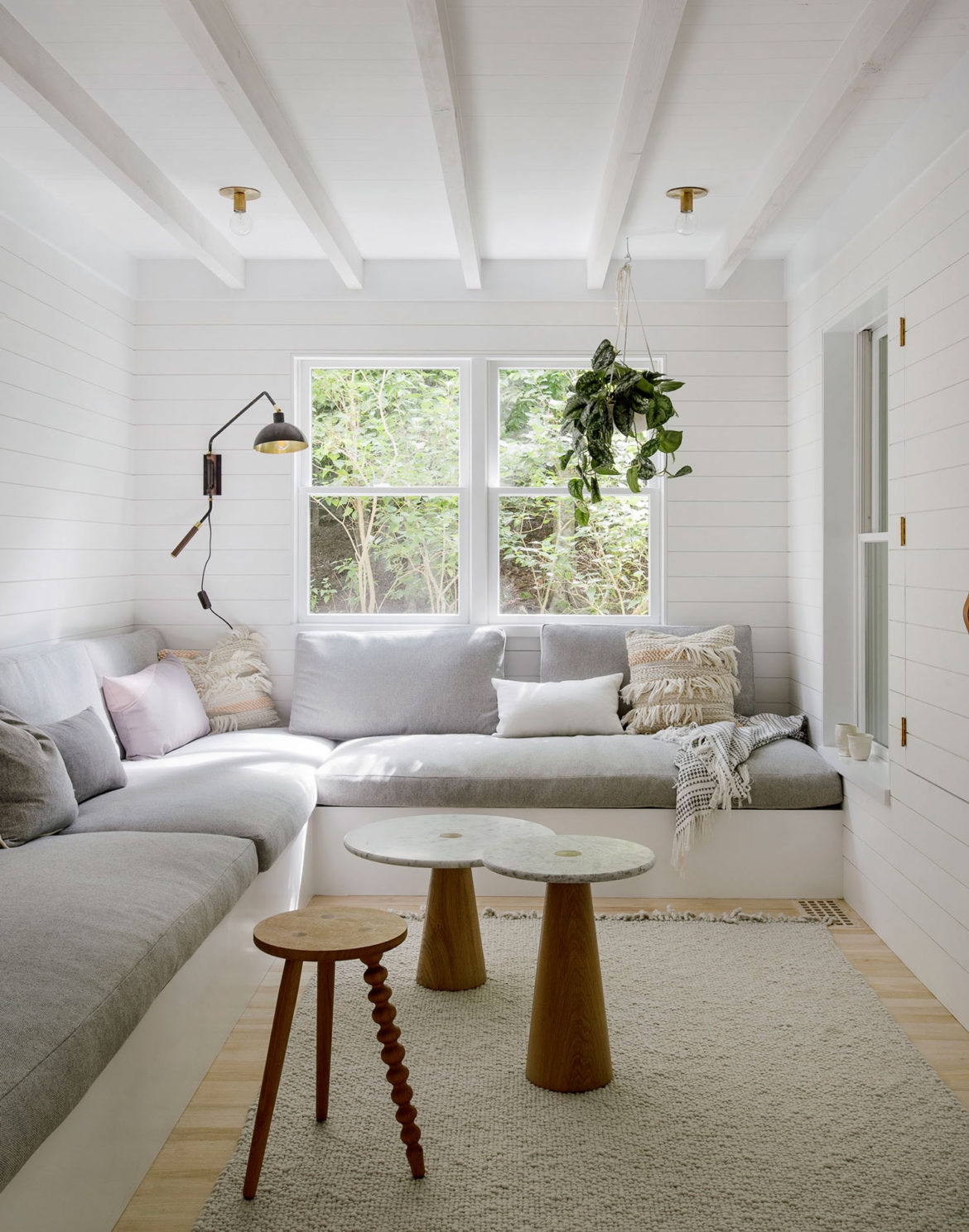 ... Whitened Wood, Marble, Brass, Minimal Scandinavian Accents And The  Peaceful Atmosphere Has Been Renovated By Jessica Helgerson Interior Design.