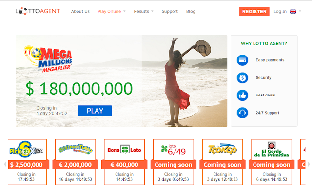 Lottery Syndicate Group Play: Online Lottery Agent