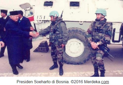 Inilah Kisah Haru Soeharto Lewati Medan Perang Sarajevo Untuk Bantu Bosnia