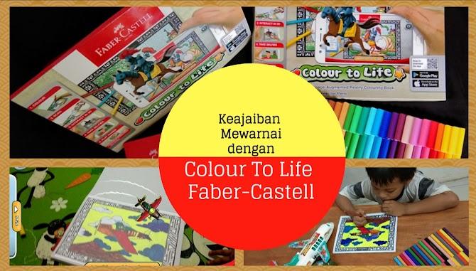Keajaiban Mewarnai Dengan Colour To Life Faber-Castell