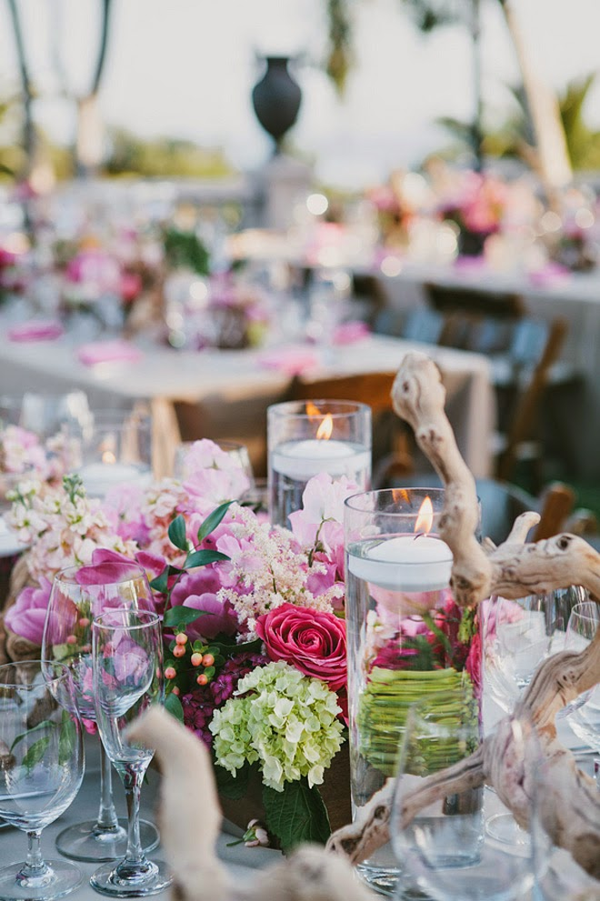 Fabulous Pink Outdoors Wedding - Belle The Magazine