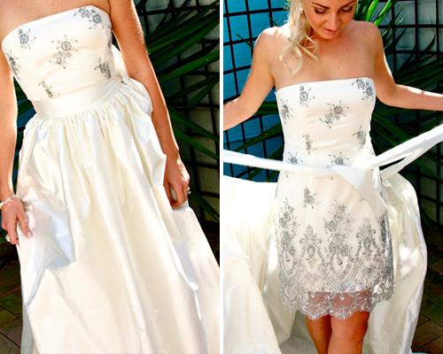 Brideindream: Convertible Wedding Dresses--A Good Choice