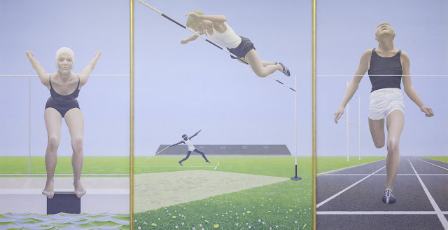 Alex  Colville     Athletes     National  Gallery  of  Canada