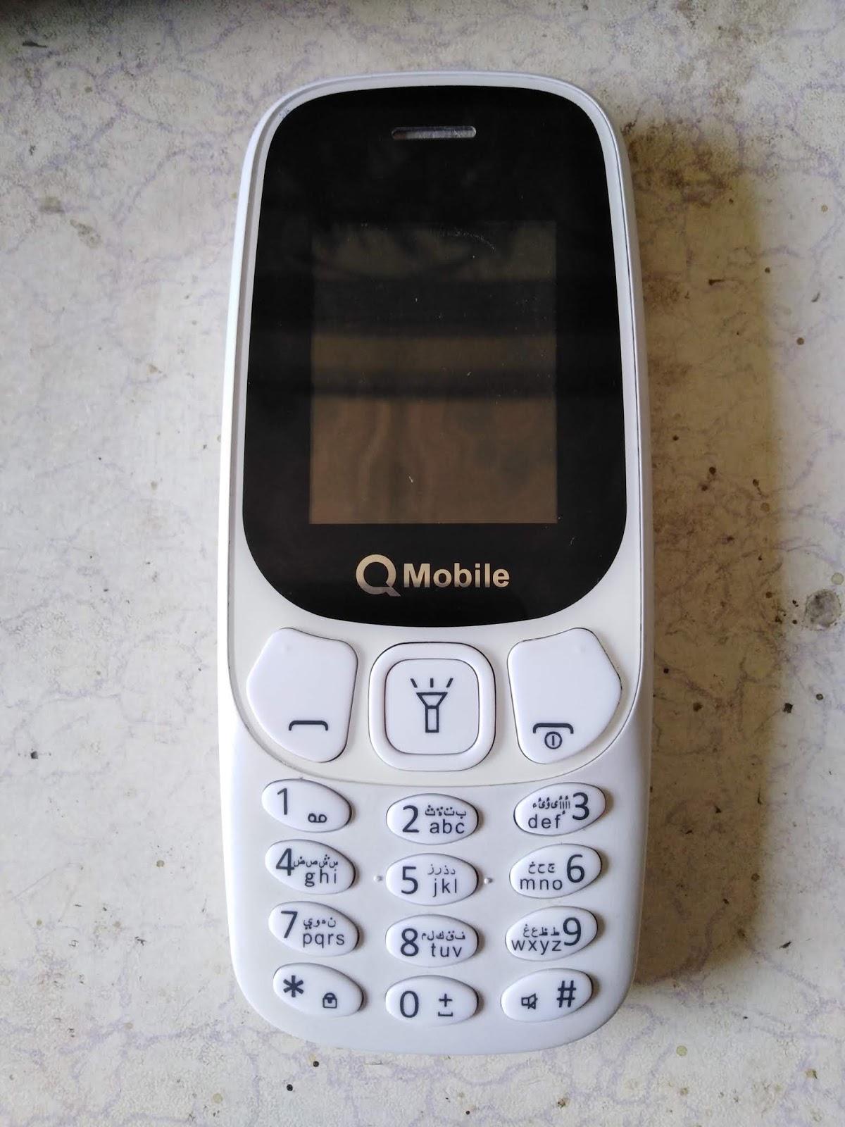 Qmobile 3310 Mini Spd 6531e Flash File CM2SCR Tool Readed