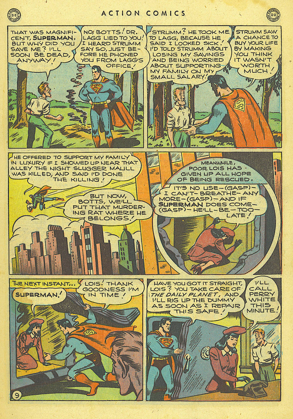 Read online Action Comics (1938) comic -  Issue #118 - 10