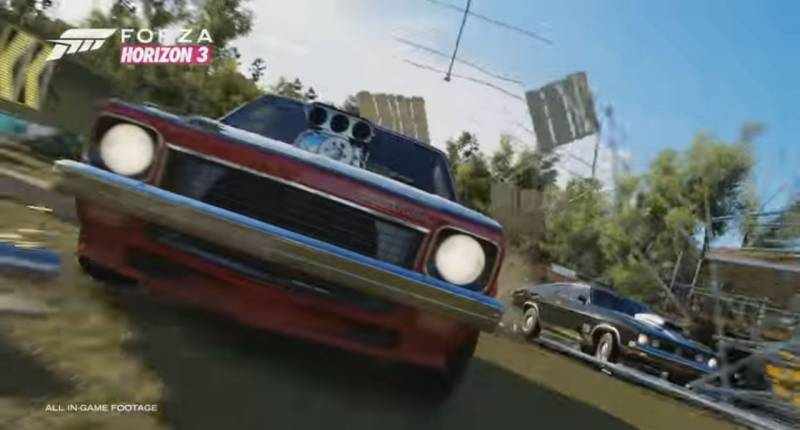 Forza Horizon 3, Game Mobil Balap dengan Gameplay yang Memukau