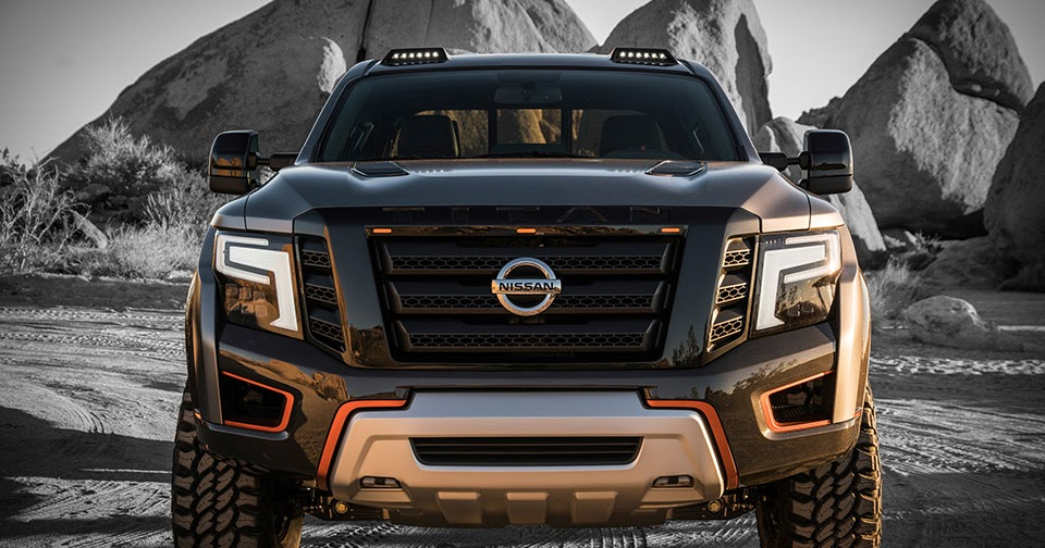Nissan Titan Warrior Concept Is So BADASS Looking!!!