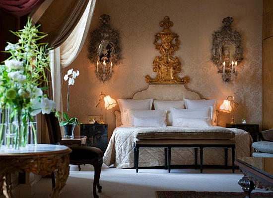 Coco Chanel hotel suite bedroom at the Ritz