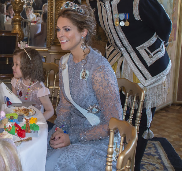 "Real life Princess Madeleine accompanied the ""My Big Day"" party which was held at the Royal Palace early this week and was attended by 12 children staying in pediatrics hospitals."