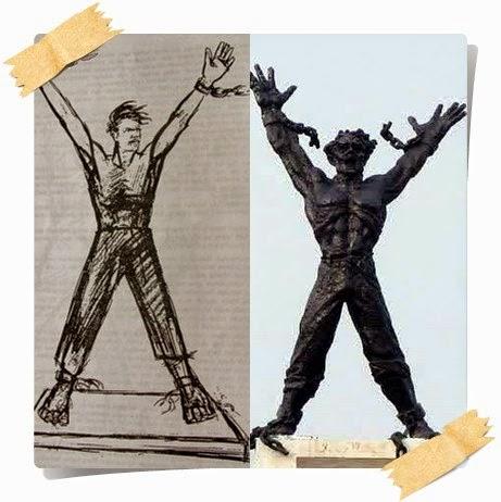 Data sejarah pembuatan patung pembebasan irian Barat