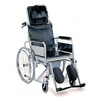 Karma Rainbow 8 Reclining Commode Wheelchair