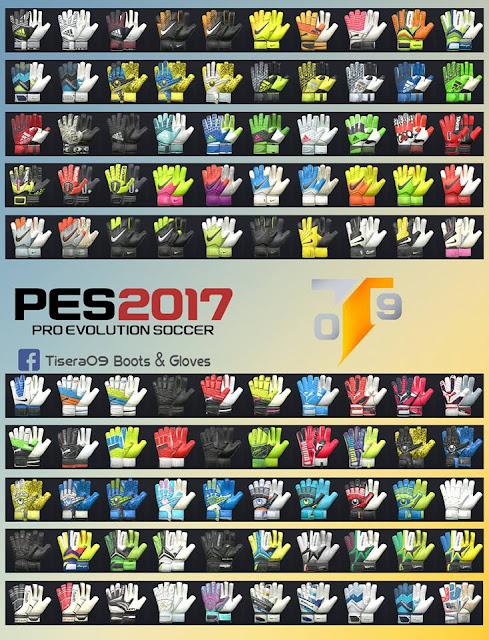 PES 2017 Glove Pack V2 dari Tisera09