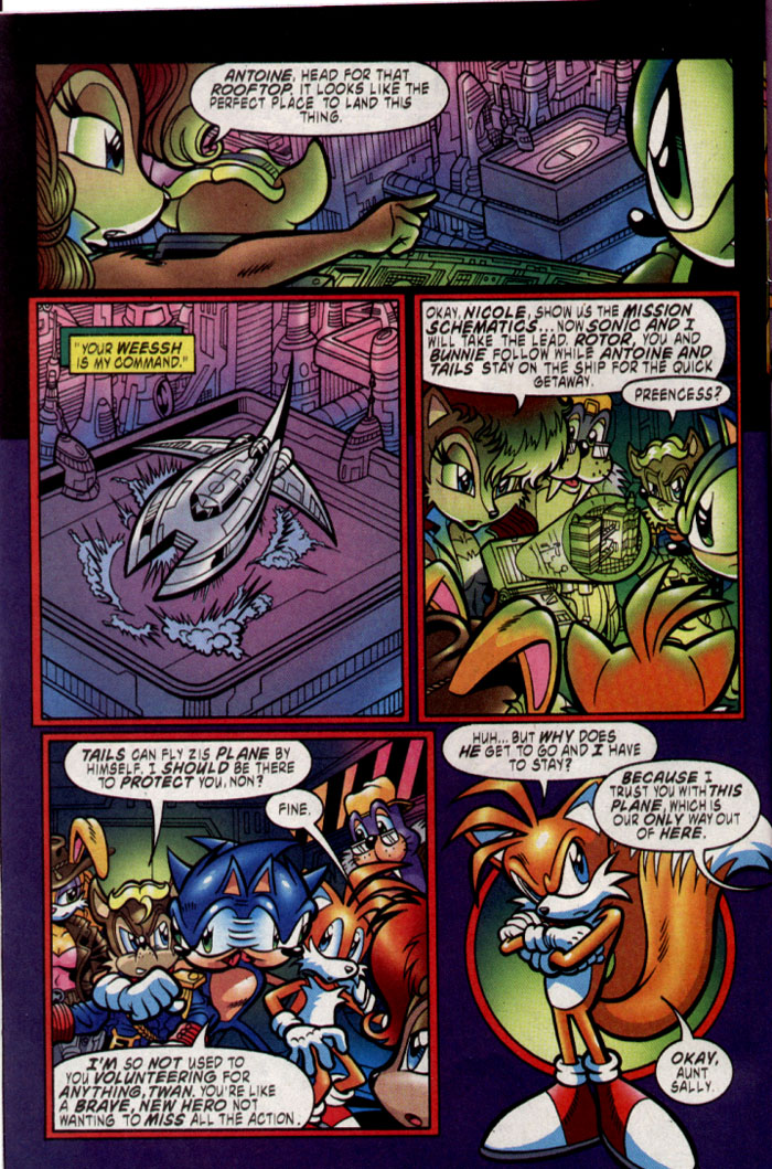 Read online Sonic The Hedgehog comic -  Issue #137 - 5
