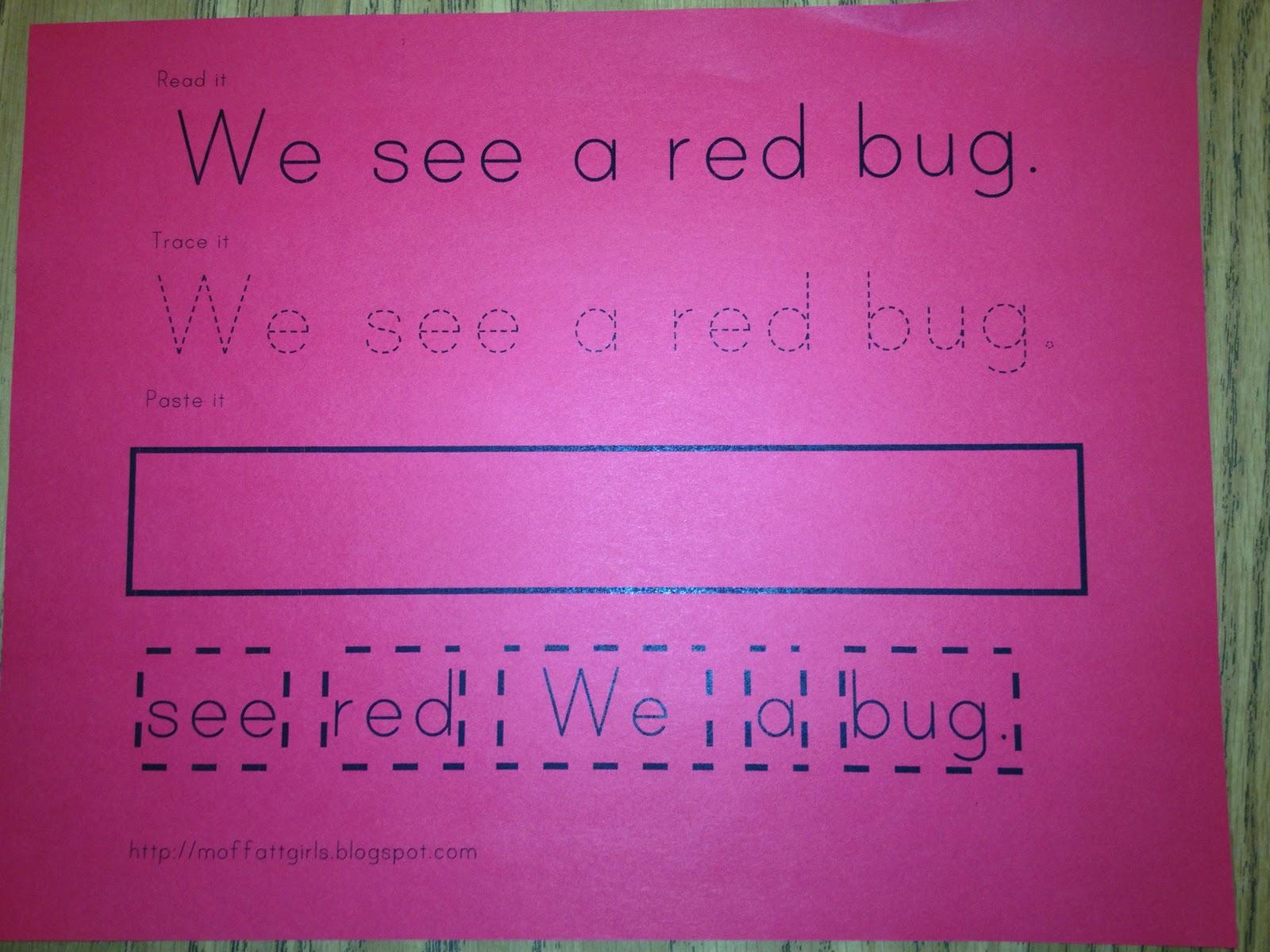 For The Love Of Kindergarten January