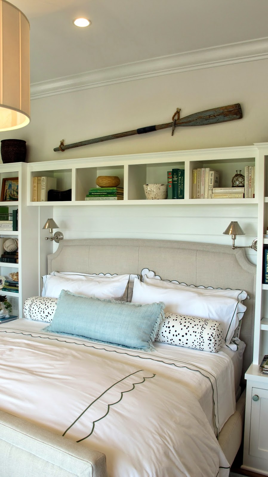 Coastal Bedroom: Nautical By Nature: Coastal Living Showhouse: First Floor