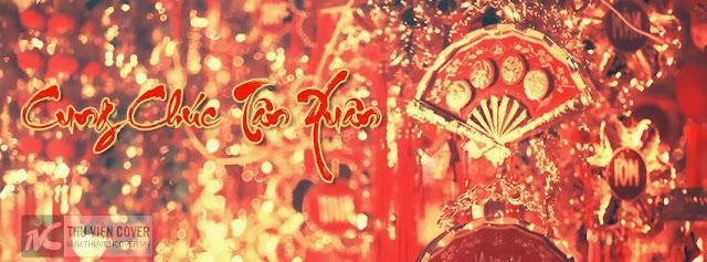 Ngập tràn không khí Tết trên facebook với bộ ảnh bìa này - VanThangIt.Com