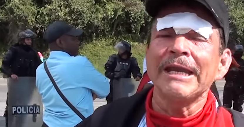 La represión del Esmad deja al menos 18 heridos en Cauca