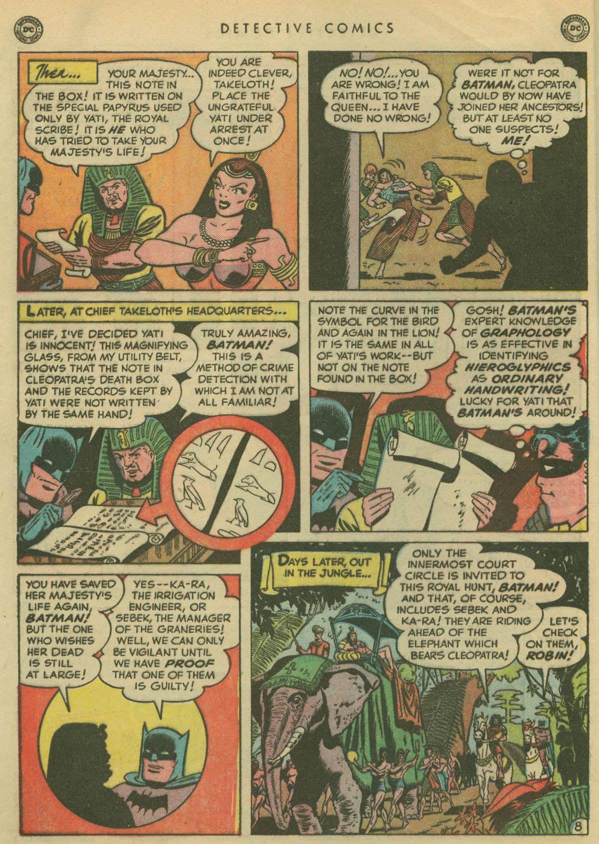 Detective Comics (1937) 167 Page 9