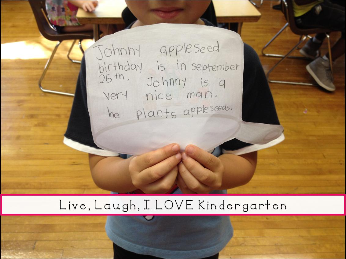 Live Laugh I Love Kindergarten Happy Birthday Johnny