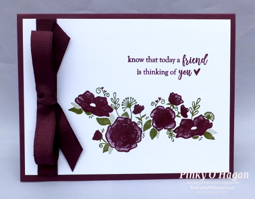 Pinky\u0027s World Stampin\u0027 Projects Forever Lovely get well card