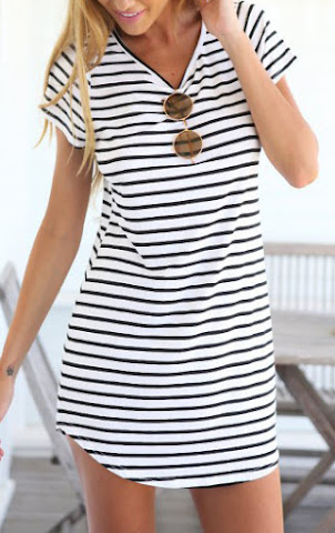 es.romwe.com/Black-White-V-Neck-Striped-Slim-Dress-p-117555-cat-727.html?utm_source=simply2wear.com&utm_medium=blogger&url_from=simply2wear