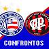 Histórico dos confrontos | Bahia x Atlético-PR