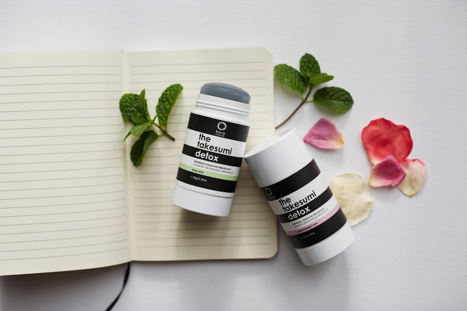 kaia naturals takesumi detox deodorant review