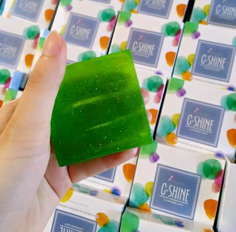 c shine soap skincare