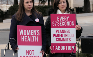 Defund Planned Parenthood Protesters