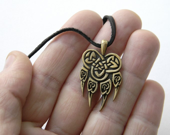купить амулет печать велеса из бронзы древнеславянские обереги оптом и в розницу