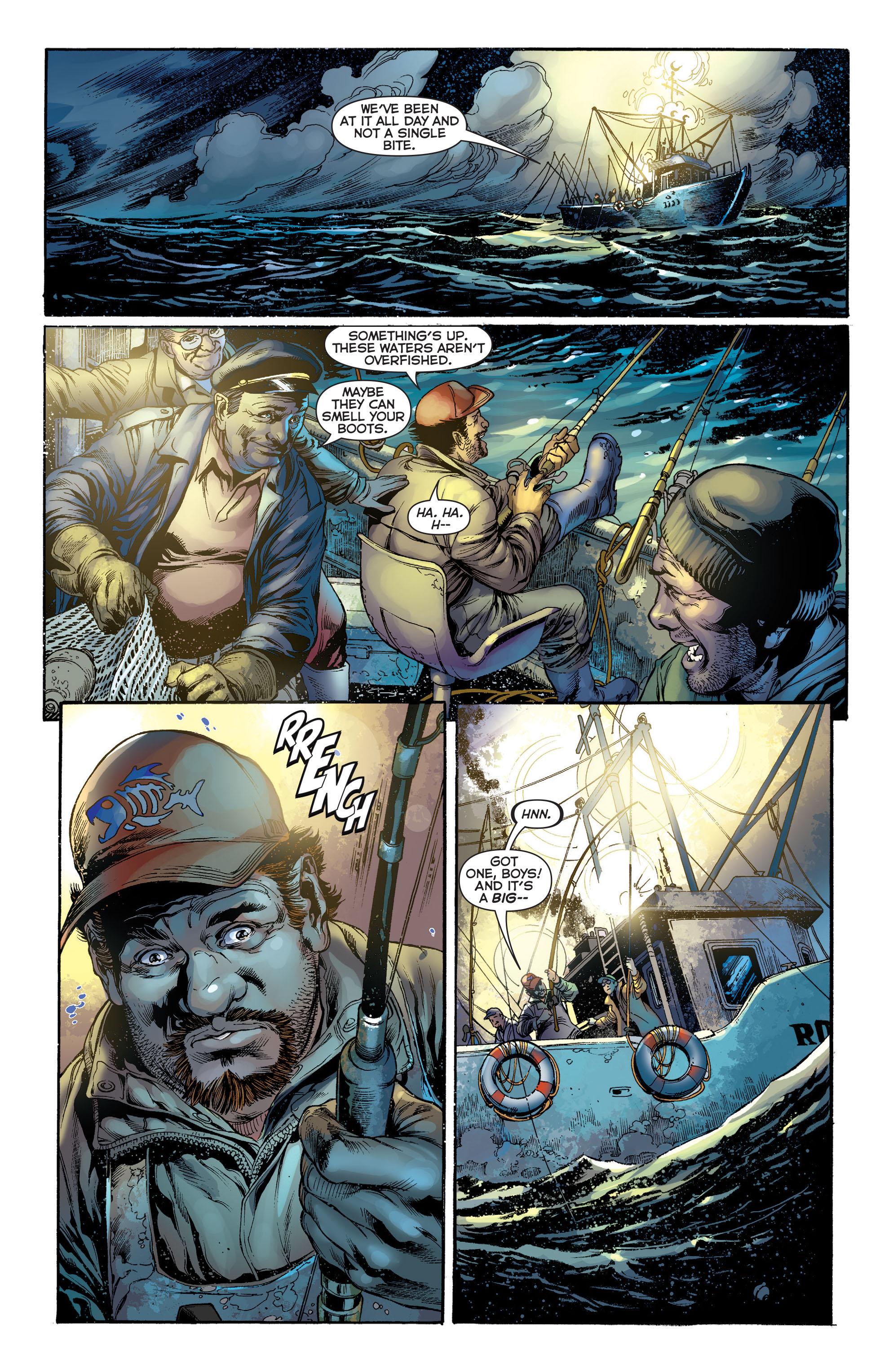 Read online Aquaman (2011) comic -  Issue #1 - 22