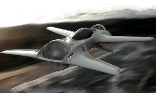Uçan Araba DeLorean DR-7