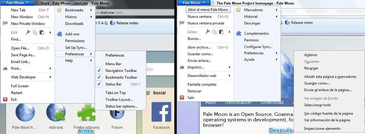 Pale Moon, un navegador web multiplataforma y potente - El Blog de HiiARA